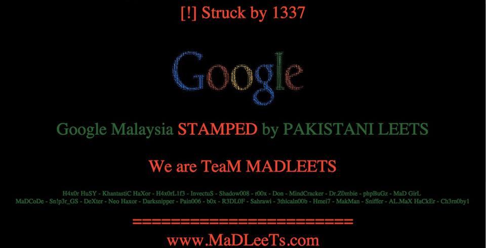 google-malaysia-hacked